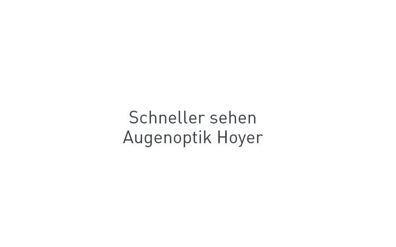 Logo-Redesign Optik Hoyer