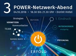 JU2 Event Netzwerkabend am 4.10.2018